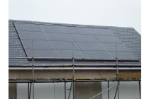 Installed solar panels integrated solar panels - Narberth