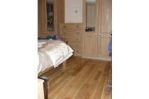 Oak flooring laid in St. Davids