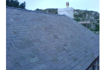 Grade listed II welsh slate roof - St. Davids